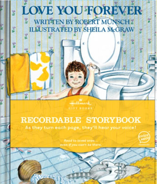giveaway} hallmark recordable book