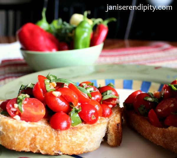 tomato, basil 5